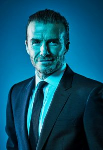 David Beckham by Joby Sessions
